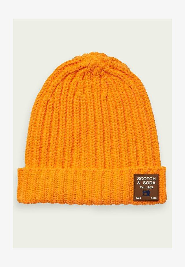 CHUNKY - Bonnet - neon cosmic orange