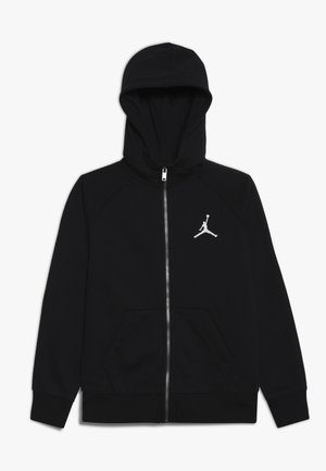 JUMPMAN FULL ZIP - Felpa aperta - black