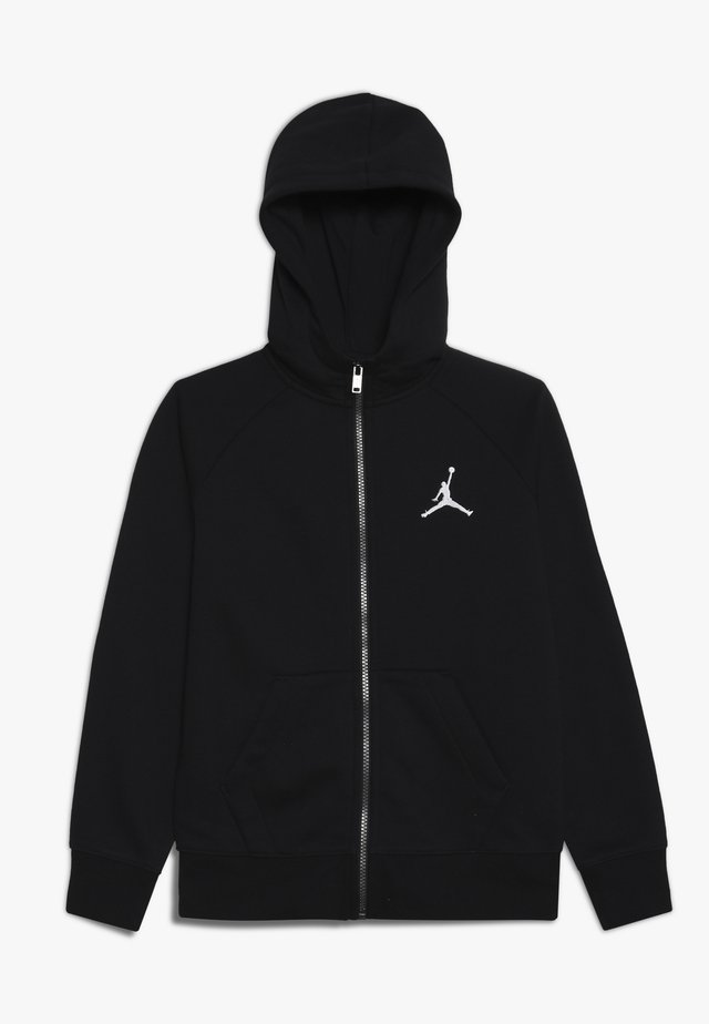 JUMPMAN FULL ZIP - Huvtröja med dragkedja - black