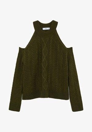 VINA - Stickad tröja - grün