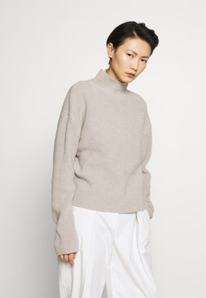 WILLOW - Strickpullover - grey/beige