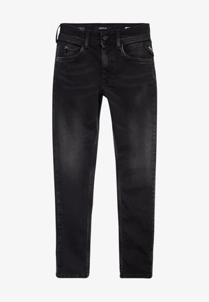HYPERFLEX STRETCH  - Vaqueros slim fit - black denim