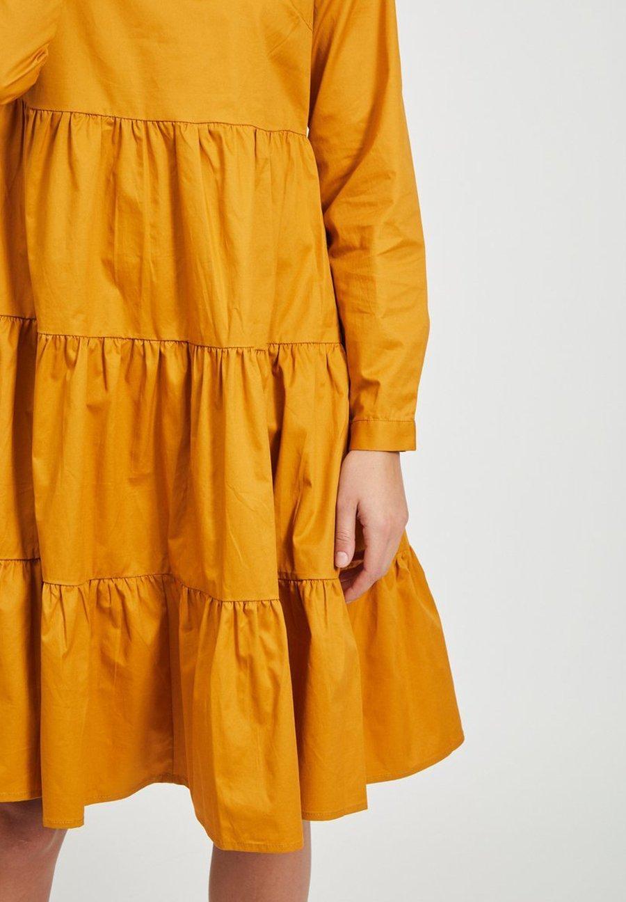 Vila Freizeitkleid - golden oak | Damenbekleidung 2020