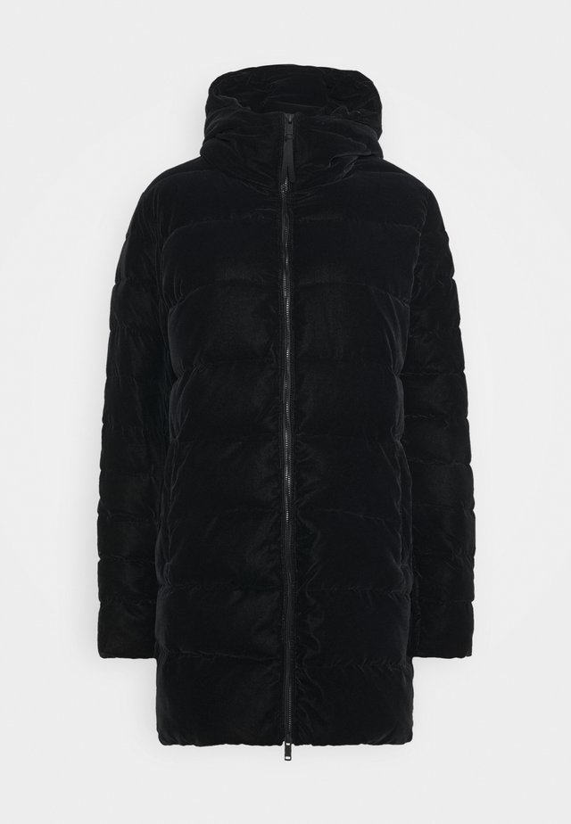 WOMAN PARKA FIX HOOD - Parka - nero