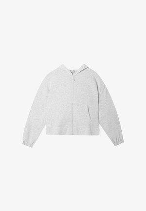 MIT REISSVERSCHLUSS  - Mikina na zip - grey