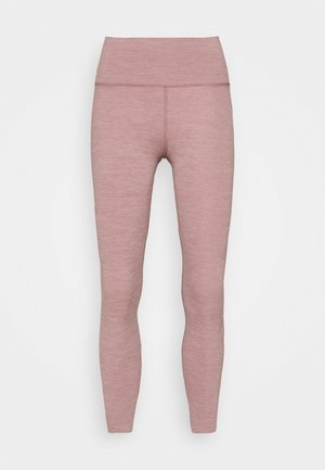 THE YOGA LUXE 7/8 - Leggings - smokey mauve/htr/(desert dust)