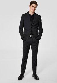 Selected Homme - Pantalon de costume - black - 1