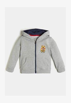 LOGO  - Zip-up hoodie - hellgrau