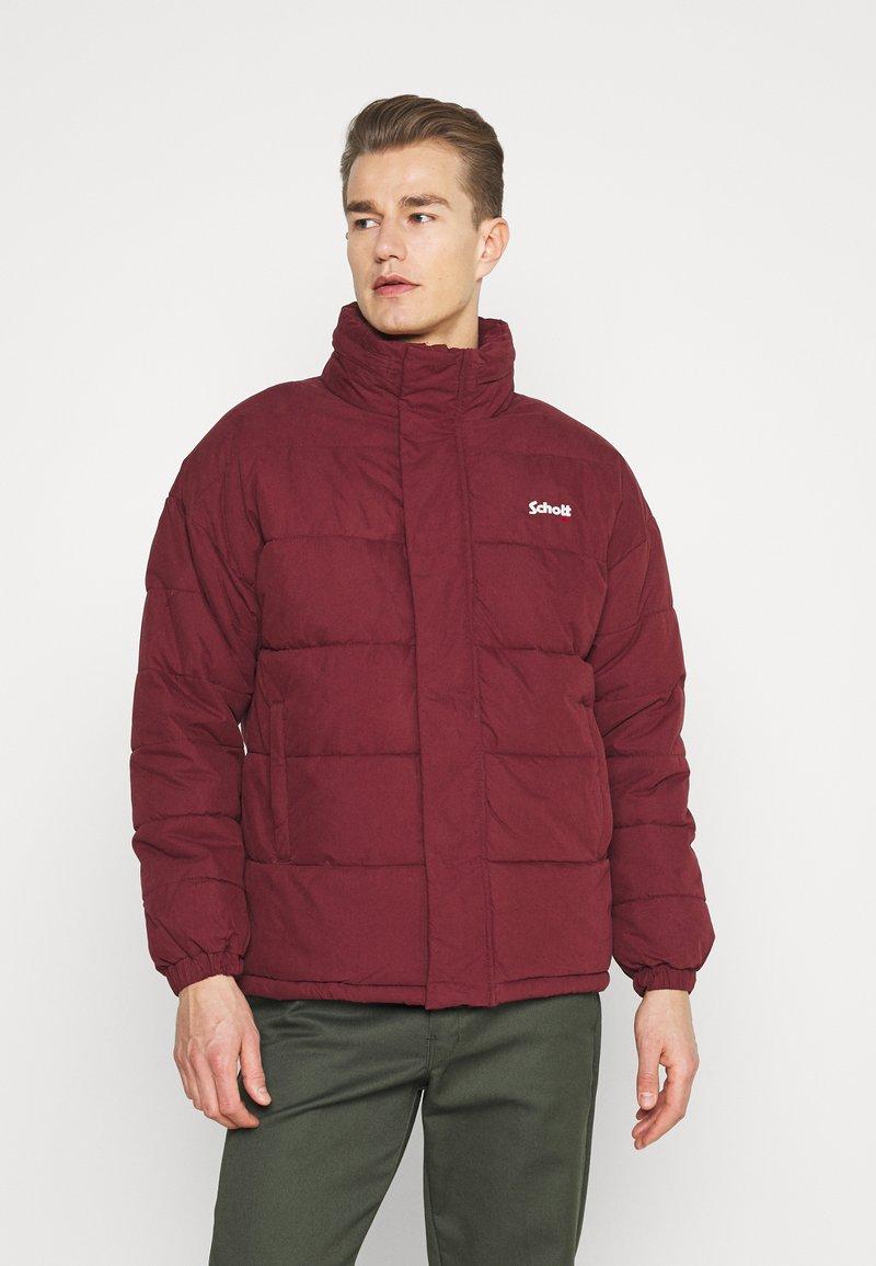 Schott - NEBRASKA - Winter jacket - bordeaux