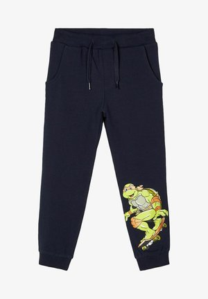SWEATHOSE TEENAGE MUTANT NINJA TURTLES - Tracksuit bottoms - dark sapphire