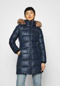 Calvin Klein - ESSENTIAL REAL COAT - Down coat - navy - 0