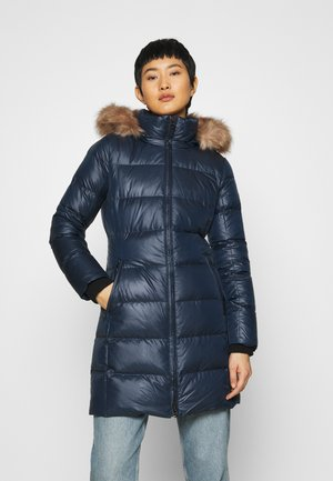 ESSENTIAL REAL COAT - Down coat - navy