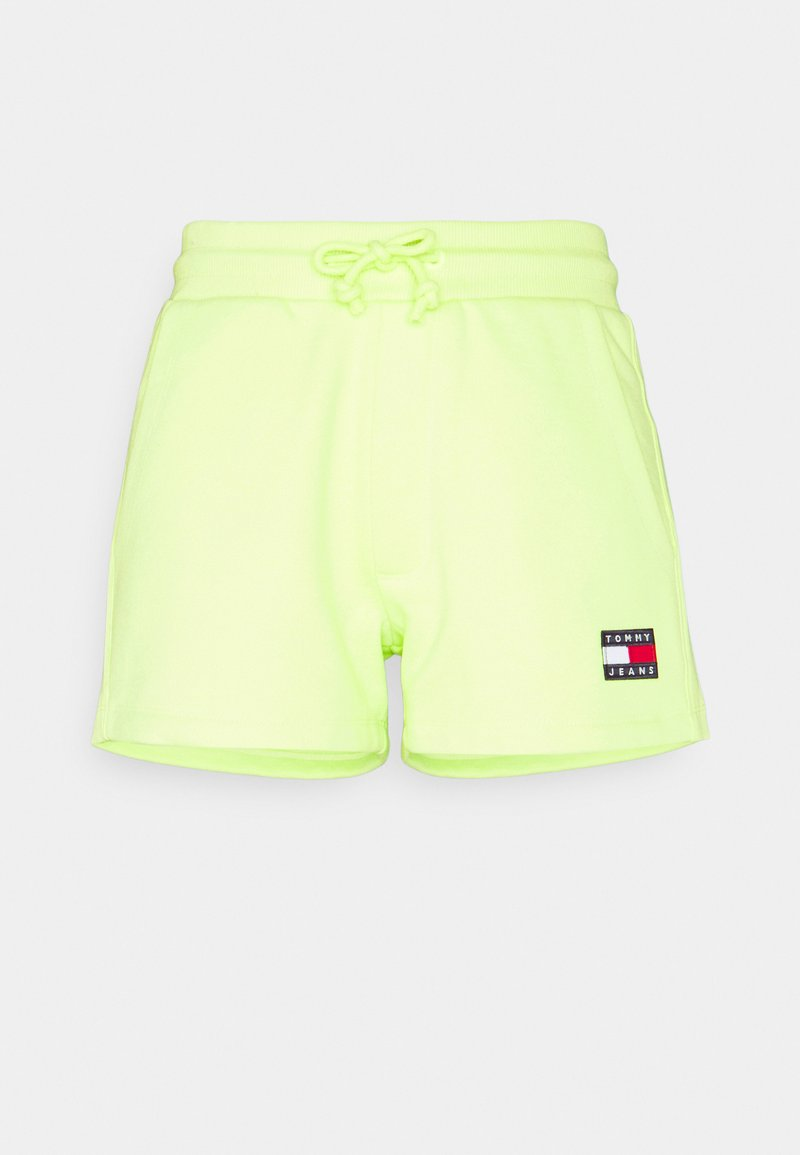 Tommy Jeans - BADGE - Short - faded lime