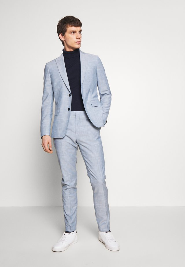TROPICAL SLIM SUIT - Garnitur - blue