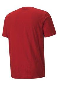Puma - ATHLETICS  - T-shirt med print - high risk red - 4
