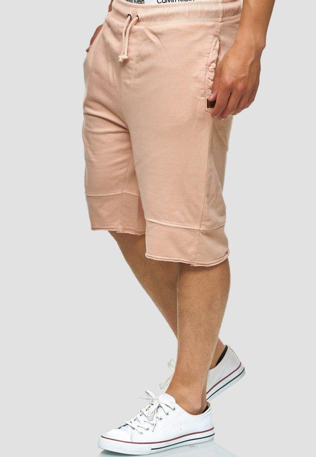 Denim shorts - cameo rose