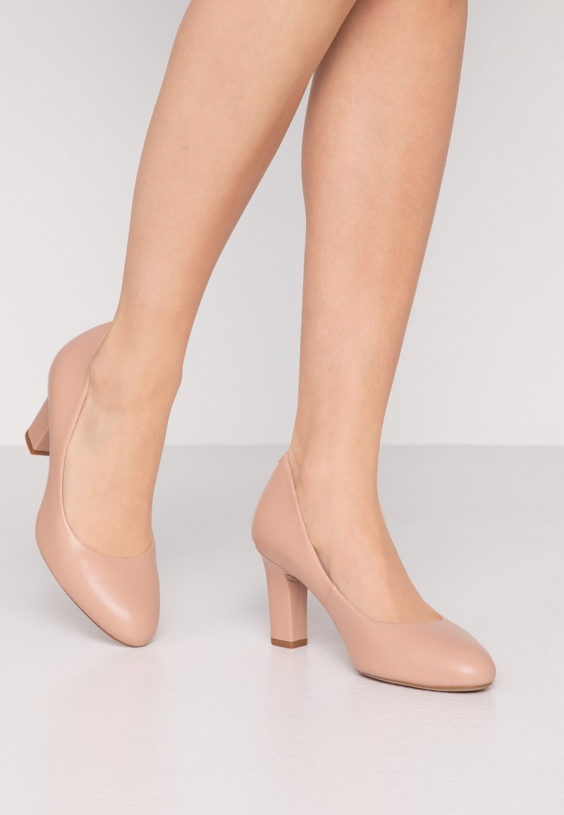 Unisa Wide Fit - UMIS WIDE FIT  - Classic heels - roxe