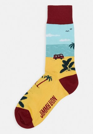 SURF TRIP - Calcetines - yellow