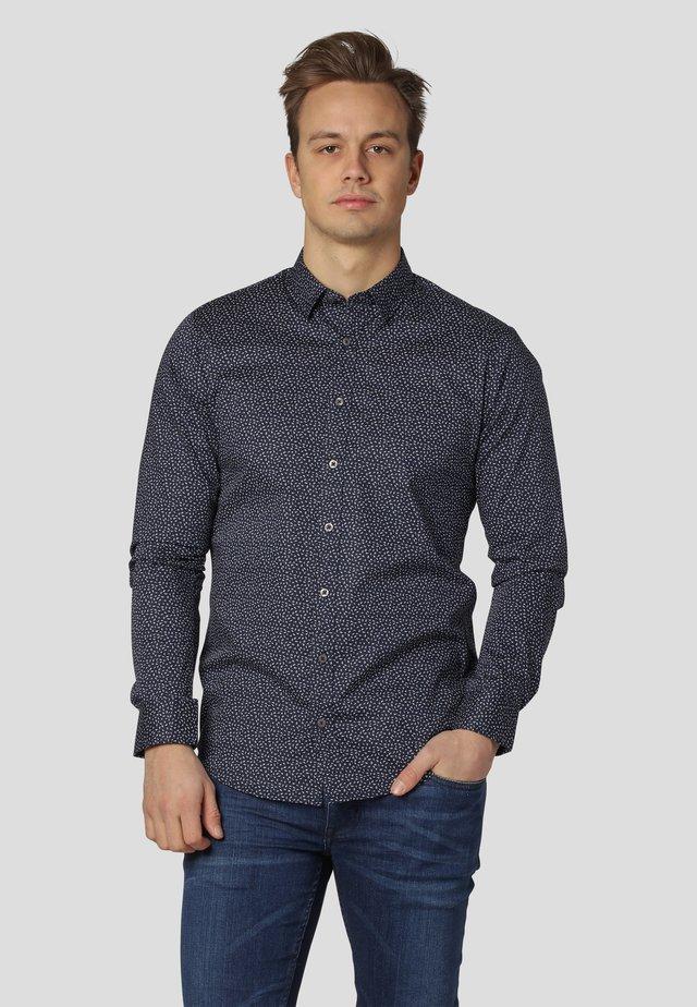 LEX AOP - Shirt - dk.navy