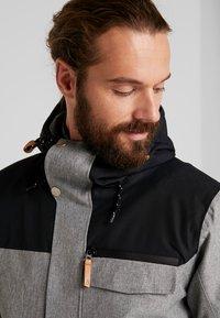 Wearcolour - ROAM JACKET - Snowboardjakke - grey melange - 3