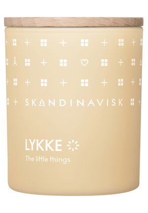 SCENTED CANDLE WITH LID - Doftljus - lykke