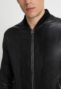 Serge Pariente - BONBON - Leather jacket - black - 5