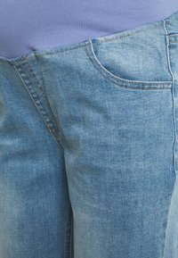 Cotton On - MATERNITY STRETCH STRAIGHT OVER BELLY - Straight leg jeans - blue - 2