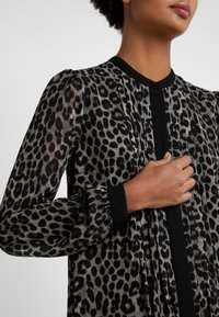 MICHAEL Michael Kors - CHEETAH  - Shirt dress - gunmetal - 5