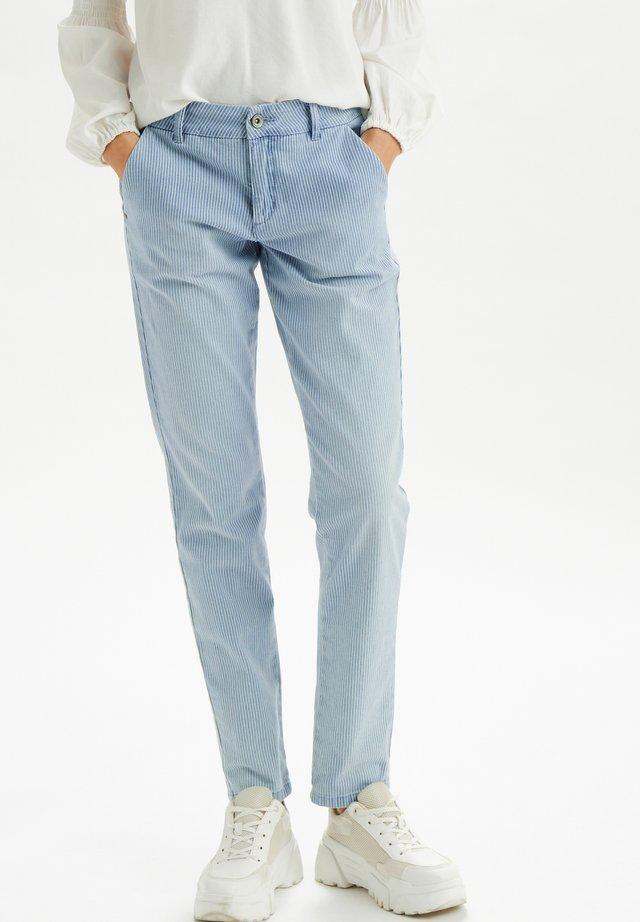 CRELSA - Chinos - blue milkboy stripe