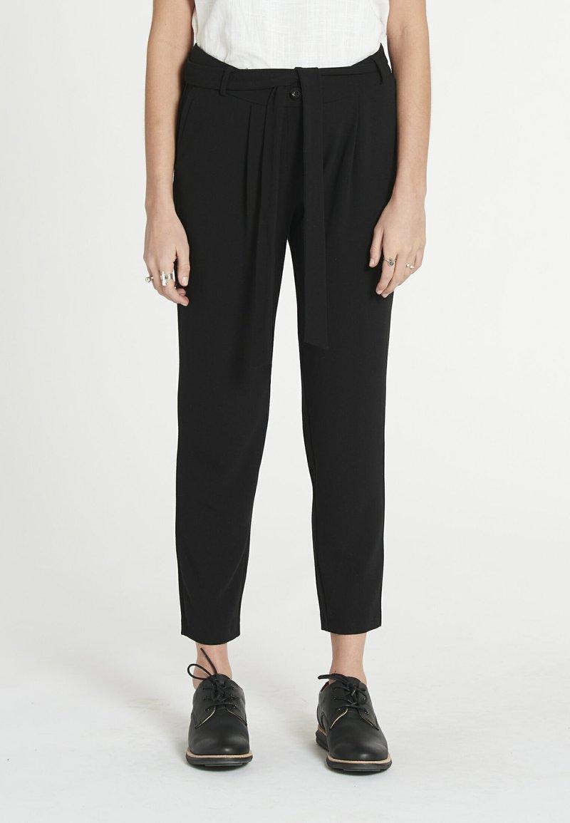 Jascha Stockholm - Pantalon classique - black