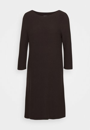Jumper dress - dark chocolate