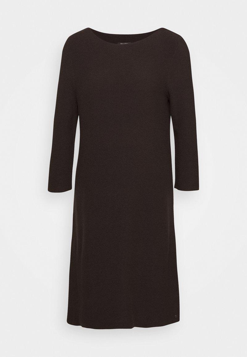 Marc O'Polo - Jumper dress - dark chocolate