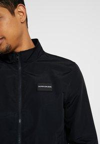 Calvin Klein Jeans - ZIP UP HARRINGTON - Bomber Jacket - black - 5