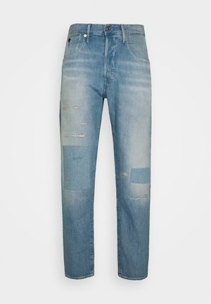 LOIC RELAXED TAPERED - Jeans baggy - kara denim - vintage marine blue restored