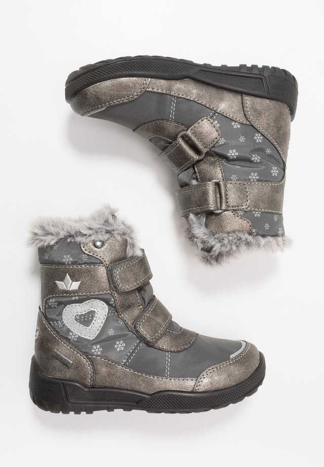 ANTONIA - Snowboots  - grau/silber