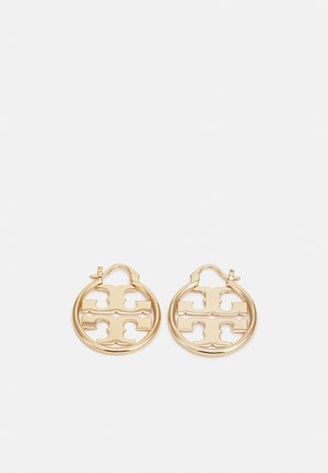 MILLER SMALL HOOP EARRING - Kolczyki - gold-coloured