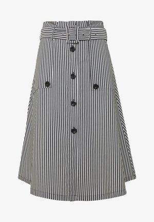 EXCLUSIVE SUMMER SKIRT - Áčková sukně - black/white