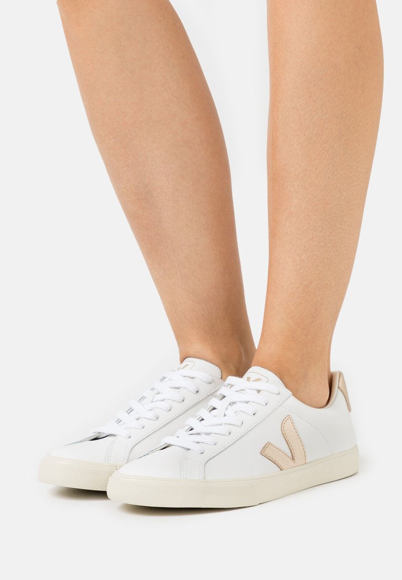 Veja - ESPLAR LOGO - Sneakers laag - extra white/platine