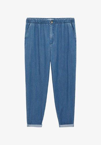 NAIROBI - Trousers - mittelblau