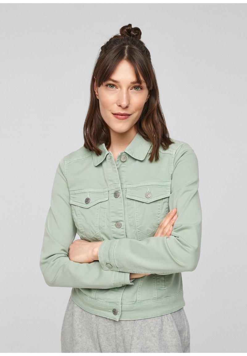 Q/S designed by - Denim jacket - mint