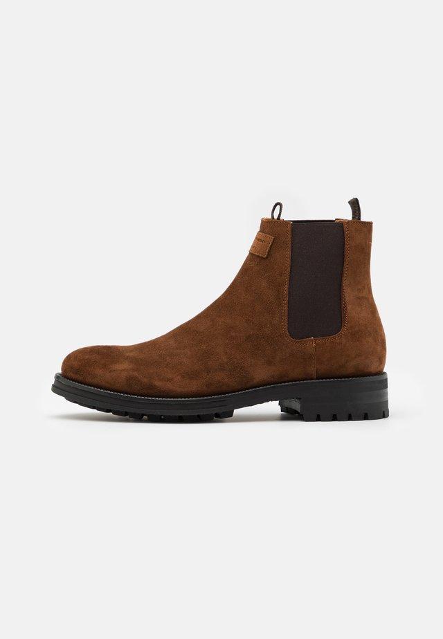 BONNIST S. - Korte laarzen - dark brown