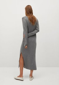 Mango - ROLLY - Strickkleid - grey - 2