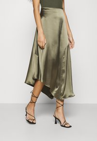 AllSaints - ANI SKIRT - Falda larga - olive green - 0