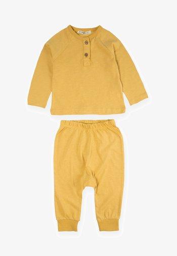 SET - Tracksuit - mustard yellow