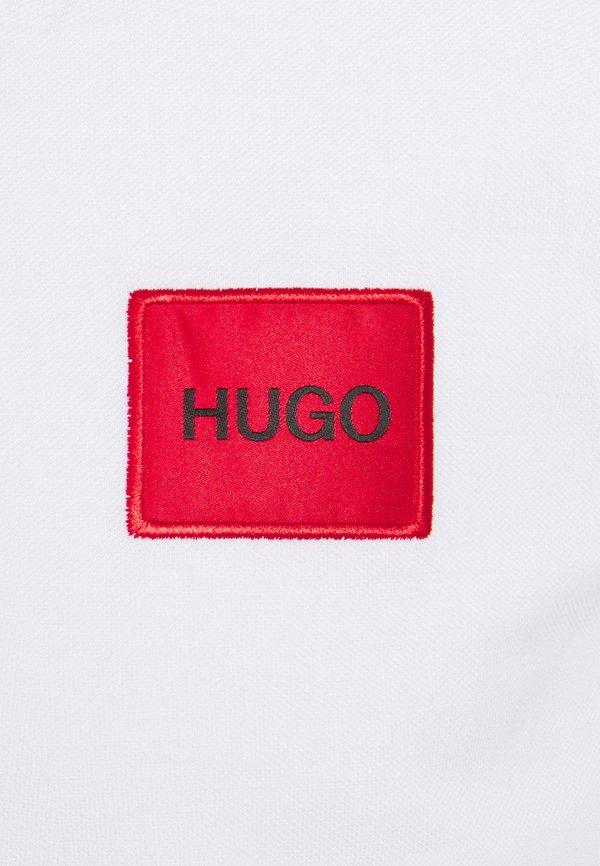 HUGO DERESO - Koszulka polo - white/biały Odzież Męska DYAJ