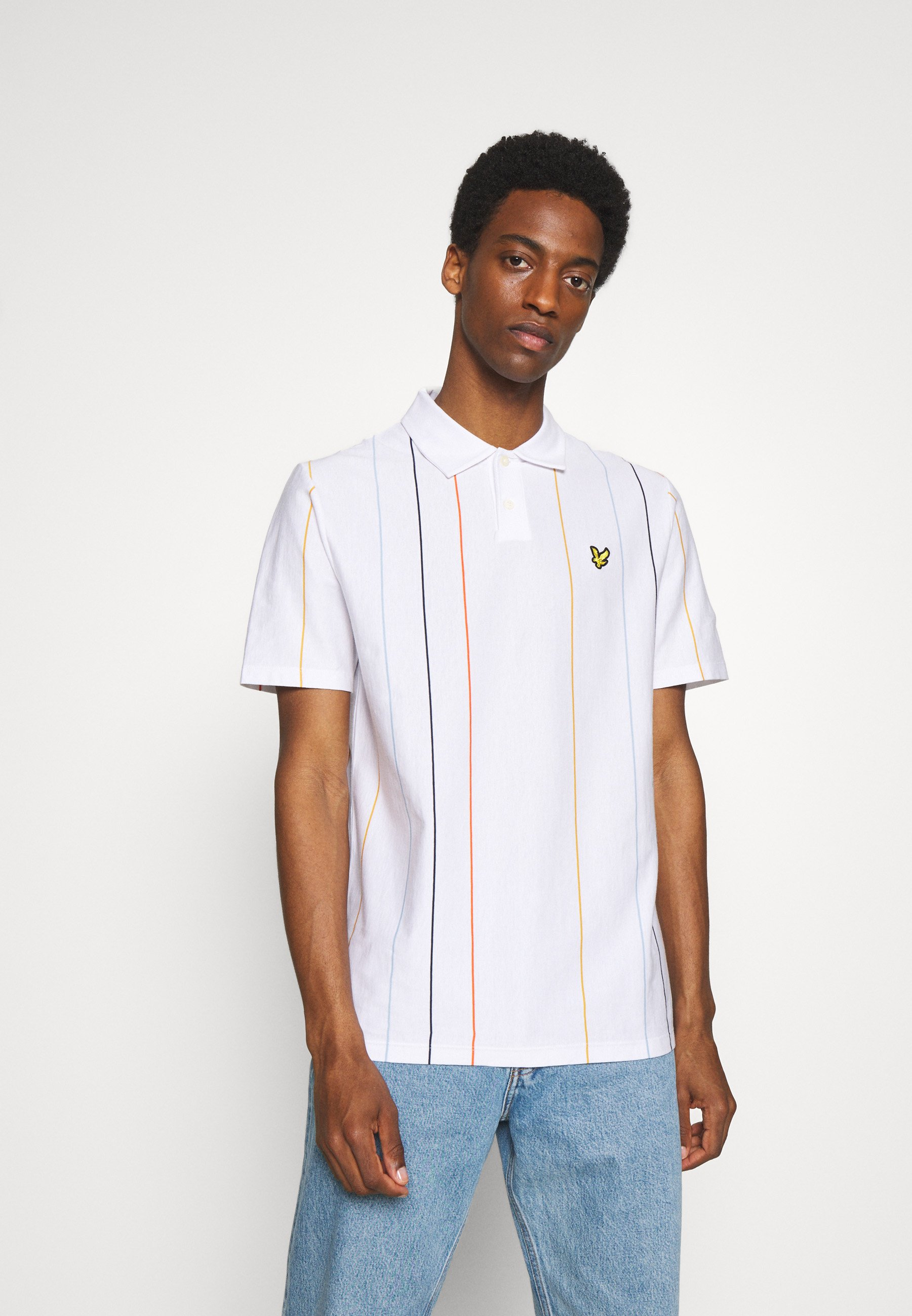 Men VERTICAL STRIPE  - Polo shirt