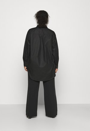 CLONE SHIRT - Button-down blouse - black deep