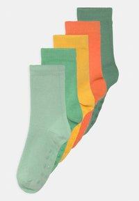 Lindex - PLAIN FASHION 5 PACK UNISEX - Socks - light orange - 0