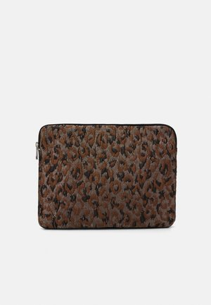 "COMPUTER SLEEVE 13"" LEOPARD - Taška na laptop - silver-coloured/brown/multi"