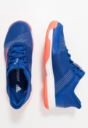 ADIZERO CLUB - Clay court tennis shoes - collegiate royal/solar red/footwear white